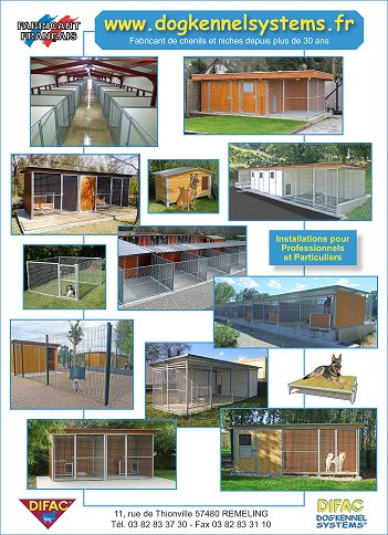 Dogkennel systems cages et chenils