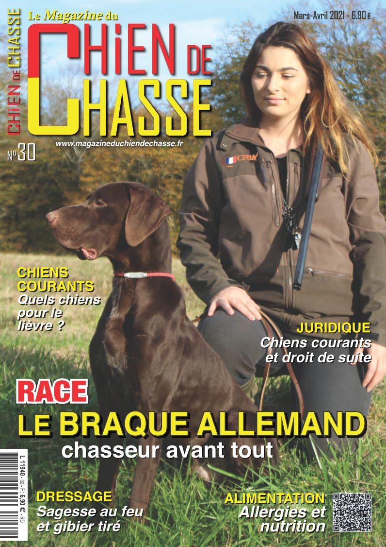 Le Magazine du Chien de Chasse Mars Avril 2021 numero 30